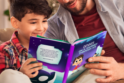 Image that relates the advantage of the personalized book and its development in children