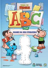 Imagem reduzida do livro do ABC com a Turma da Mônica