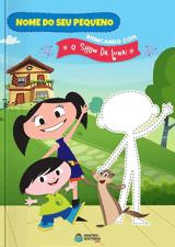 Livro personalizado do O Show da Luna, brincando de faz de conta!