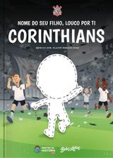 Livro personalizado do Louco por ti Corinthians