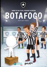 Livro personalizado do Meu Pequeno Glorioso Botafogo