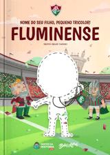 Livro personalizado do Meu Pequeno Tricolor Fluminense