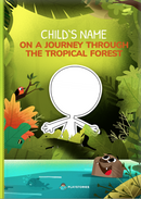 Personalized forest book cover