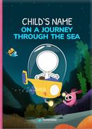 Capa do livro personalizado do A Journey Through the Sea