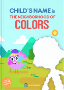 The Neighborhood of Colors personalized book cover