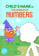 The World of Numbers personalized book cover