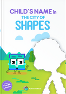 The City of Shapes personalized book cover