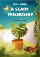 The friendship personalized book cover