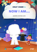 The now-i-am personalized book cover