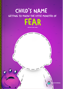 Getting to Know the Little Monster of Fear personalized book cover