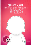 Personalized book cover of Meeting the little shyness monster